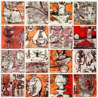 Monotipo sobre papel, 140 x 175 cm. Federico Bencini. 2005