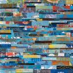 Monotipo sobre madera, 150 x 150 cm. Federico Bencini. 2011