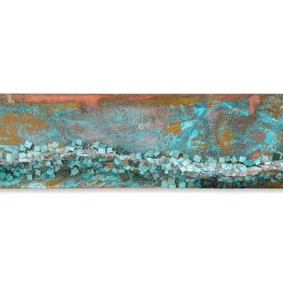 Latón, 140 x 35 cm. Raul Pernia. 2009