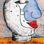 Monotipo sobre papel, 70 x 50 cm. Federico Bencini. 2006