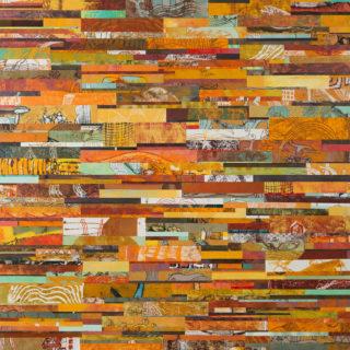 Técnica monotipo sobre madera, 150x 150 cm. Federico Bencini. 2011