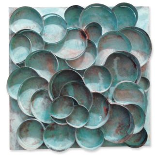 Latón, 35 x 35 cm. Raul Pernia. 2009