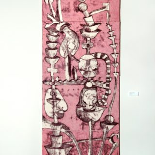 Monotipo sobre papel, 70 x 200 cm. Federico Bencini. 2005